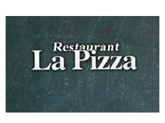 Logo Restaurant la pizza, partenaire officiel de National de Pétanque
