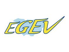 Logo egev, partenaire officiel de National de Pétanque
