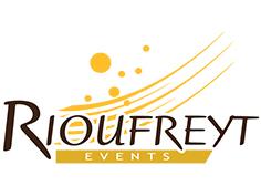 Logo rioufreyt, partenaire officiel de National de Pétanque