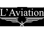 Logo Bar L'aviation, partenaire officiel de National de Pétanque