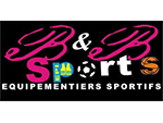 Logo B & B Sports, partenaire officiel de National de Pétanque